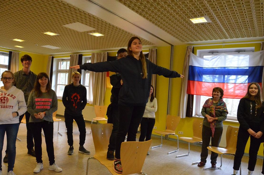 Международный молодежный обмен. Гамбург